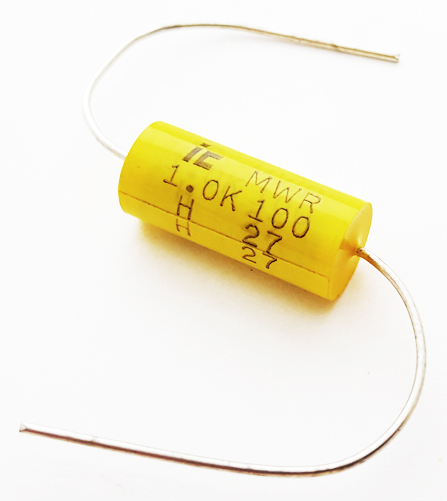 1.0uF 100V 10% Polyester Film Capacitor illinois Capacitor 105MWR100K