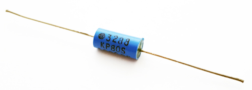 0.001uF 100V 2.5% Axial Polypropylene Capacitor Vintage STK Electronics KP80S Series