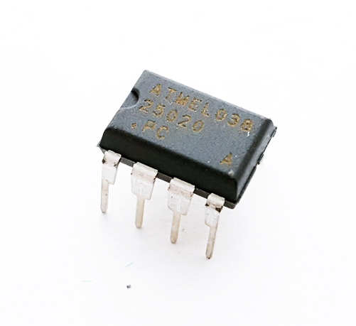 AT25020-10PC 2KB (256 x 8) SPI Serial EEPROM IC Atmel