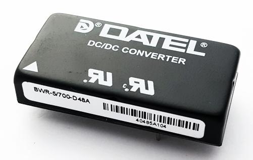 BWR-5/700-D48A Dual Output DC-DC Power Converter Module Datel