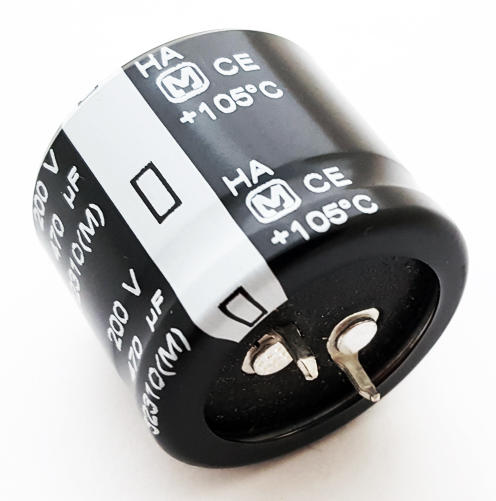 470uF 200V Radial Snap In Electrolytic Capacitor Panasonic