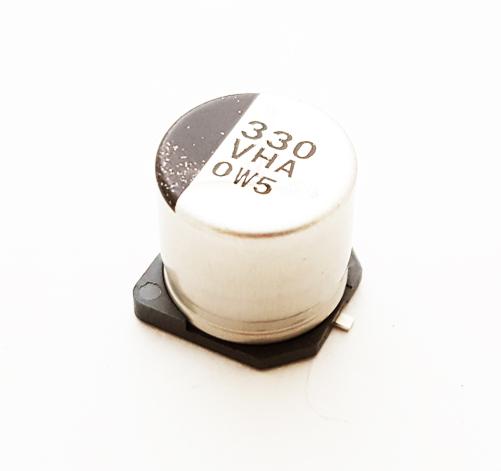 330uF 35V 20% Surface Mount Electrolytic Capacitor Panasonic EEVHA1V331P