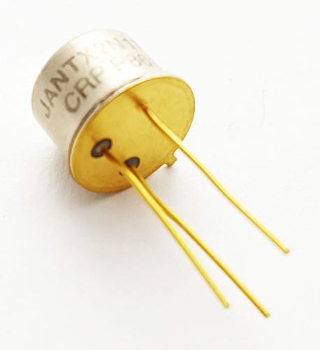 2N1711S JANTX2N1711S 0.5A 75V NPN Silicon Transistor MIL Raytheon