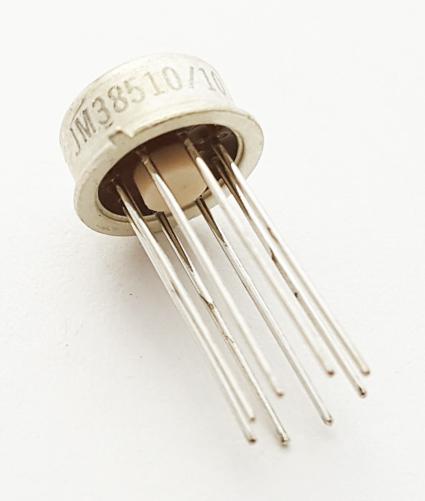 JM38510/10101BGA Linear Op Amp MIL Vintage Raytheon