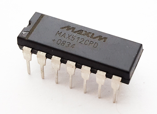 MAX512CPD+ Voltage-Output Digital to Analog Converter DAC IC Maxim