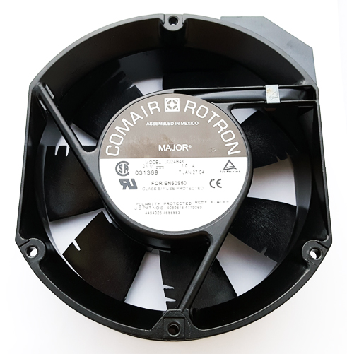 24V 1.0A Major 7 Blade Cooling Fan Comair Rotron 031369 JQ24B4X