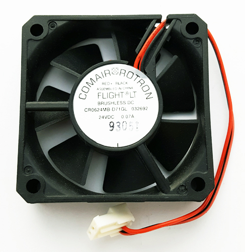 24V .07A 7 Blade Fan 60mm Comair Rotron CR0624MB-D71GL 032692