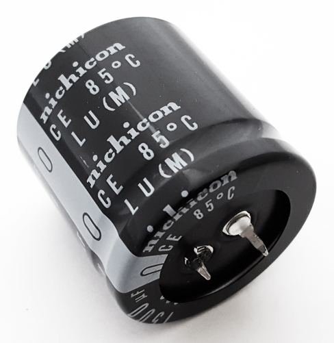 1500uF 200V 20% Radial Snap In Electrolytic Capacitor Nichicon LLU2D152MHLC