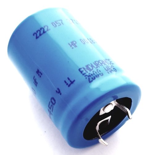 100uF 450V 20% Radial Snap In Electrolytic Capacitor BC Components 2222-057-37101