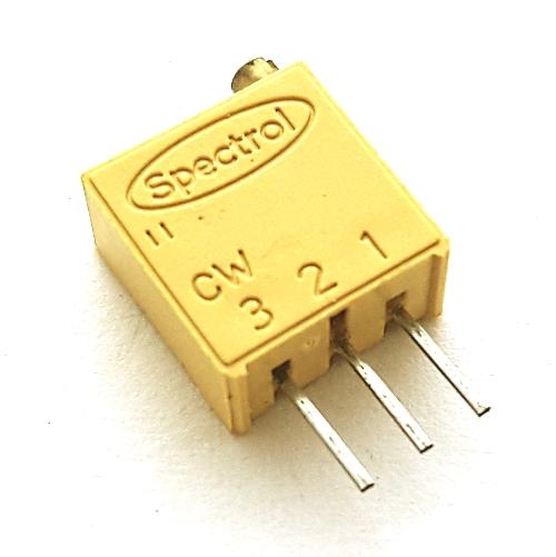20K Ohm .50W Multi-Turn Trimmer Potentiometer Spectrol 64W Series