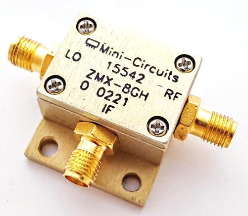 ZMX-8GH SMA Coaxial Frequency Mixer 3700 to 8000MHz Mini-Circuits