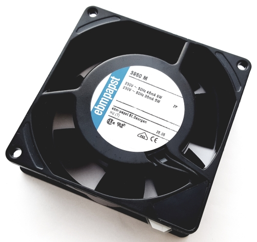 230VAC 45mA 6.0W AC Axial Compact Cooling Fan EBM-Papst 3950M