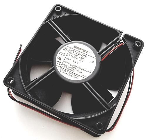 12V  4.3W DC Tubeaxial  Cooling Fan Papst-Motoren 4212