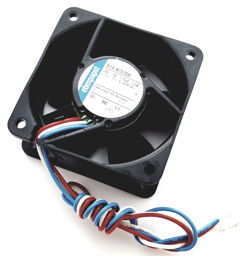 24V 110mA 2.6W DC Axial Blower Fan EBM-Papst 614N/37GH