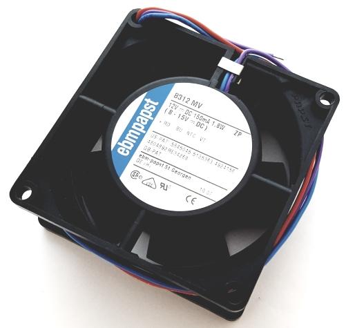12V 150mA 1.8W Variofan DC Tubeaxial Cooling Fan 3 Wire EBM-Papst 8312MV