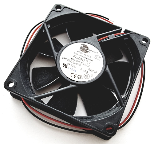 24V 0.15A Flight LT Brushless DC Cooling Fan Comair Rotron CR0824HB-C70 032730
