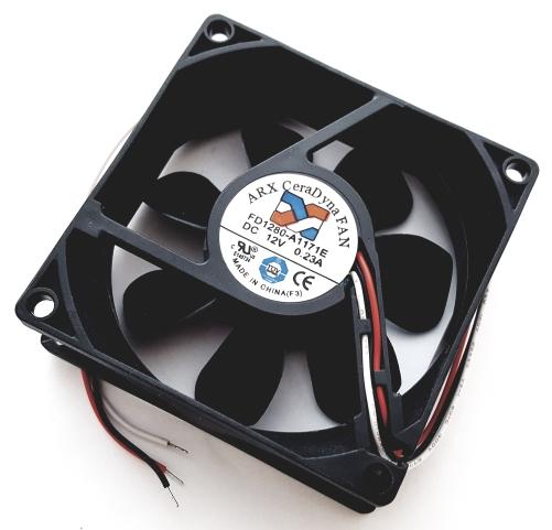 12V 0.23A DC CeraDyna Cooling Fan ARX FD1280-A1171E