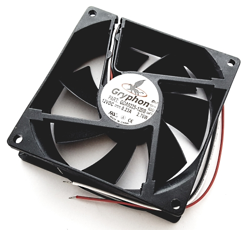 12V 0.23A Gryphon Series DC Fan Comair Rotron GDA9225-12BB