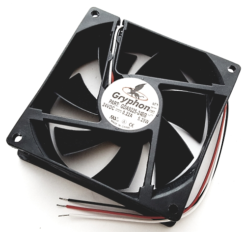 24V 0.22A Gryphon Series DC Fan Comair Rotron GDA9225-24BB