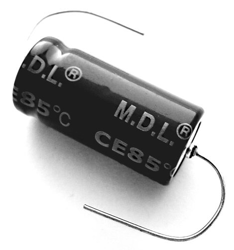 33uF 33 uF 450V Axial Electrolytic Capacitor MDL TEA450M330