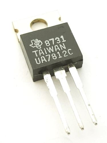 UA7812C 1A 12V Positive Fixed Voltage Regulator IC Texas Instruments