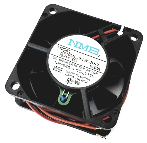 12V .26A 1.44W DC Brushless Axial Cooling Fan NMB 2410ML-04W-B57