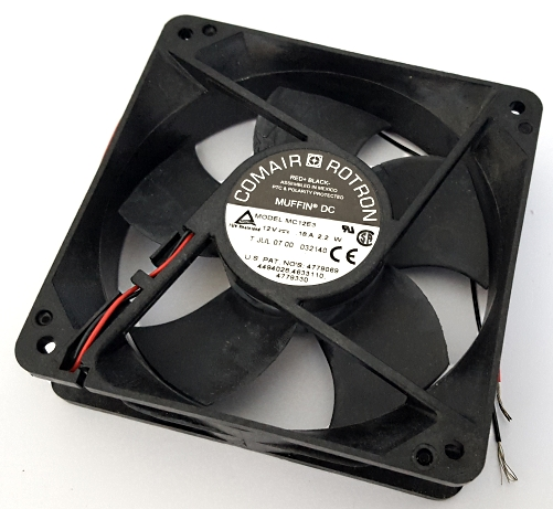 12V .18A 2.2W Axial Cooling Fan MUFFIN DC Comair Rotron 032140 MC12E3