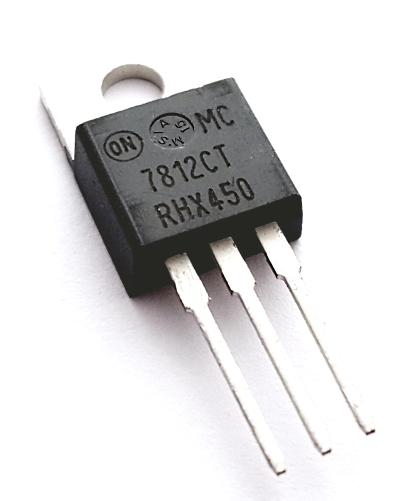 MC7812CT 1A 12V Positive Voltage Regulator ON Semiconductor