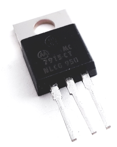 MC7915CT 7915CT 1A -15V Negative Voltage Regulator Motorola