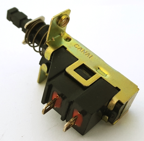 Push Button Switch SPST On Off 15A 125VAC  PS-2 Canal