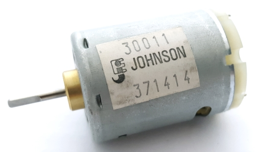 DC Motor Type-3 6.0VDC-24.0VDC 9K to 18K RPM Johnson 30011/371414