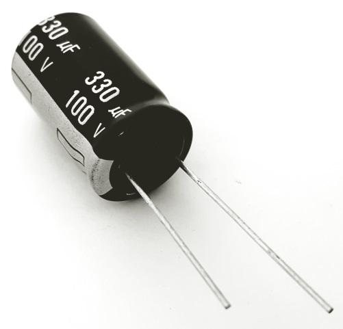 330uF 100V Radial Electrolytic Capacitor Panasonic ECA2AHG331