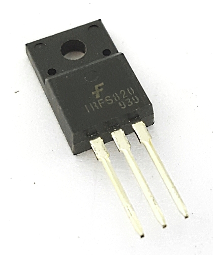 IRFS820 2.5A 500V N-Channel MosFET Transistor Fairchild