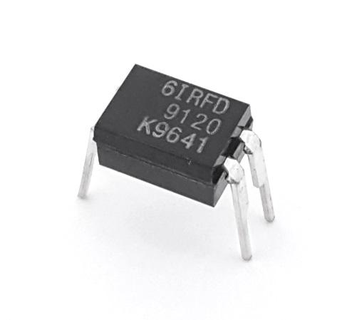 IRFD9120 1.0A 100V P-Channel Power MosFET Transistor Motorola