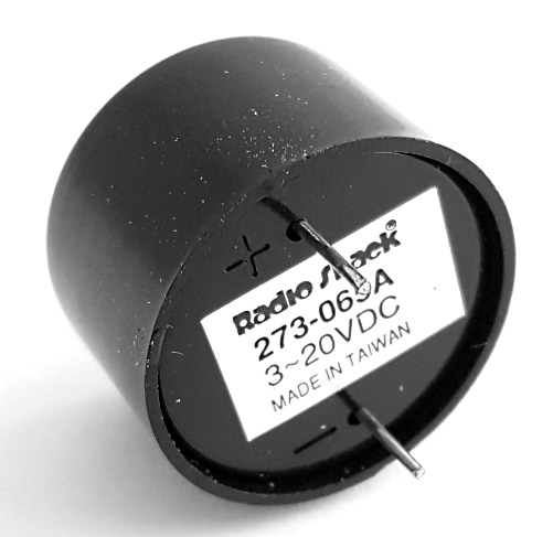 Piezo Buzzer PCB 3-20VDC 2 8kHz Radio Shack 273-065A