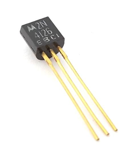 2N4126 200mA 25V PNP General Purpose Transistor Motorola