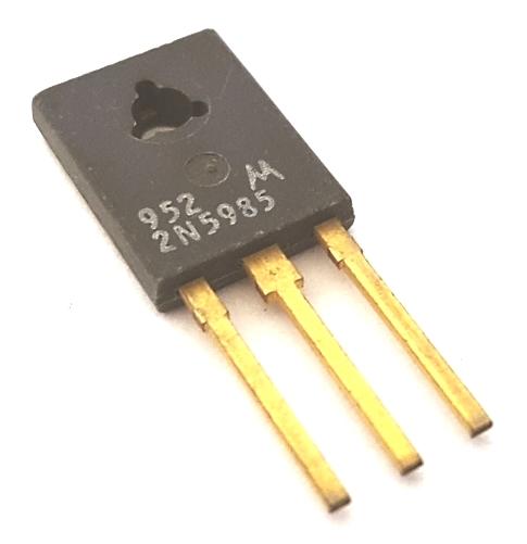 2N5985 8A 80V Silicon NPN Power Transistor Motorola