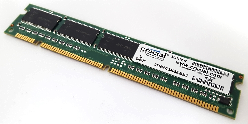 CT16M72S4D8E.M9LT SDRAM Memory Module 128MB Crucial Technology / Micron