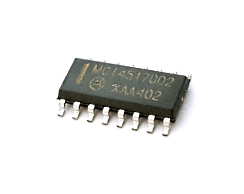 MC145170D2 185MHz Frequency Synthesizer CMOS IC Motorola