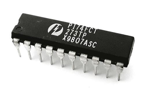 PI74FCT273TP Octal D Flip Flop Fast CMOS Logic IC Pericom