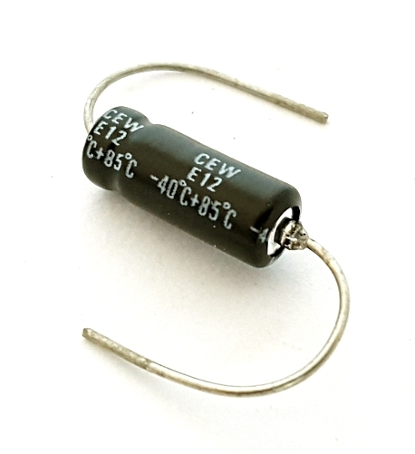 10uF 10 UF 35V Axial Electrolytic Capacitor Tecate CEW Series