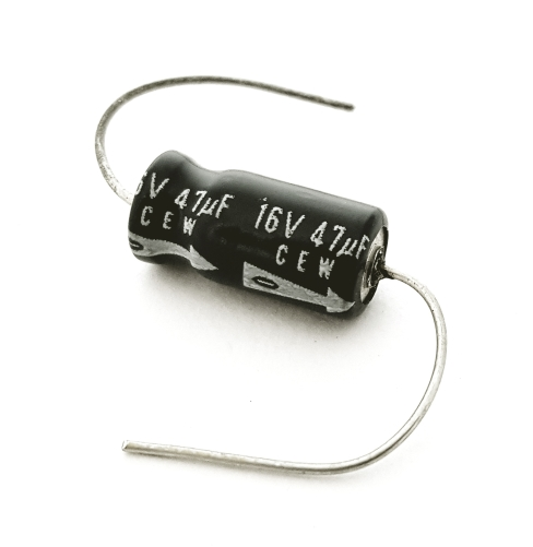 47uF 47 uF 16V Axial Electrolytic Capacitor Elna CEW Series