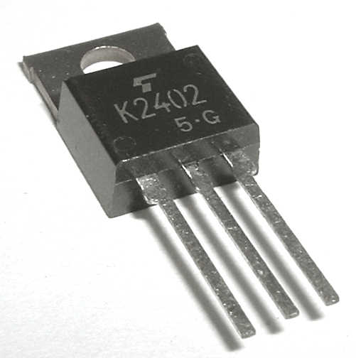 2SK2402 3.5A 600V N-Channel Power MosFET Transistor Toshiba