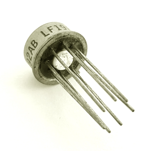 LF198AH Vintage Op Amp Sample-and-Hold Circuit National Semiconductor
