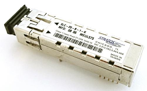 SLC-25-8-1-K SFF 2x5 Optical Transceiver 2.125/1.25/1.0625 GBaud Stratos