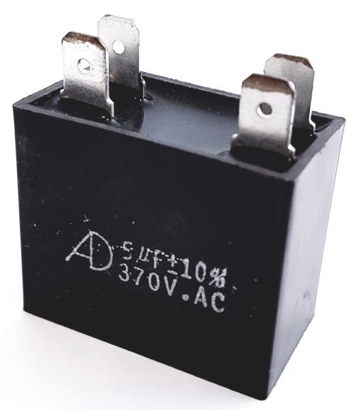 5.0uF 5 uF 370VAC Motor Run Capacitor Polyester Film ADM370F505K