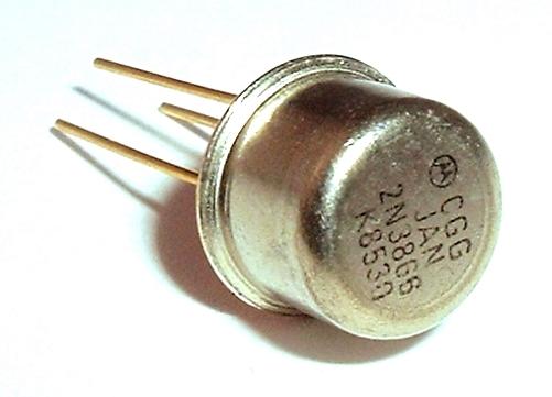 JAN2N3866 NPN Bipolar Junction Transistor MIL Motorola