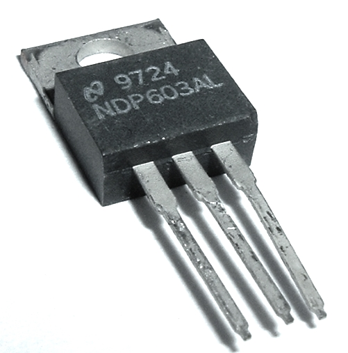 NDP603AL 25A 30V N-Channel MosFET Transistor National Semiconductor