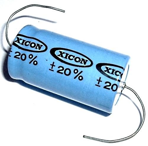 10000uF 10000 uF 16V Axial Electrolytic Capacitor Xicon XAL16V103