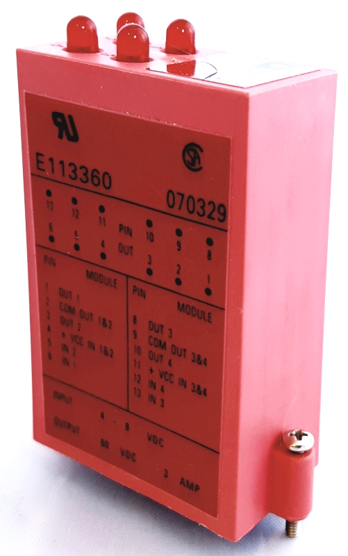 OD60Q 94-1467401 Quad Channel Relay Module 0D60Q Analog Devices
